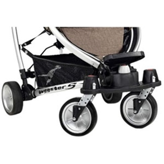 Picture of Buggster Double Swivel Wheels