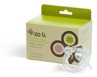 Picture of ZoLi Anti-Colic Silicone Replacement Nipples (2 per set)