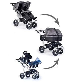 Twinner Carry Cot Car Seat