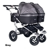 Twinner Twist Carry Cots Grey