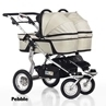 Twinner Twist Carry Cots Pebble
