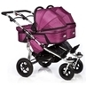 Twinner Twist Carry Cots Berry