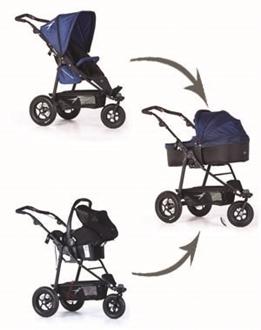 Joggster Lite Twist Newborn Seat Carry Cot
